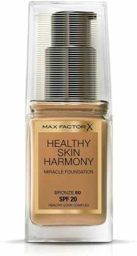 12 x Max Factor Healthy Skin Harmony Foundation | Bronze 80 | RRP £30 | 30ml